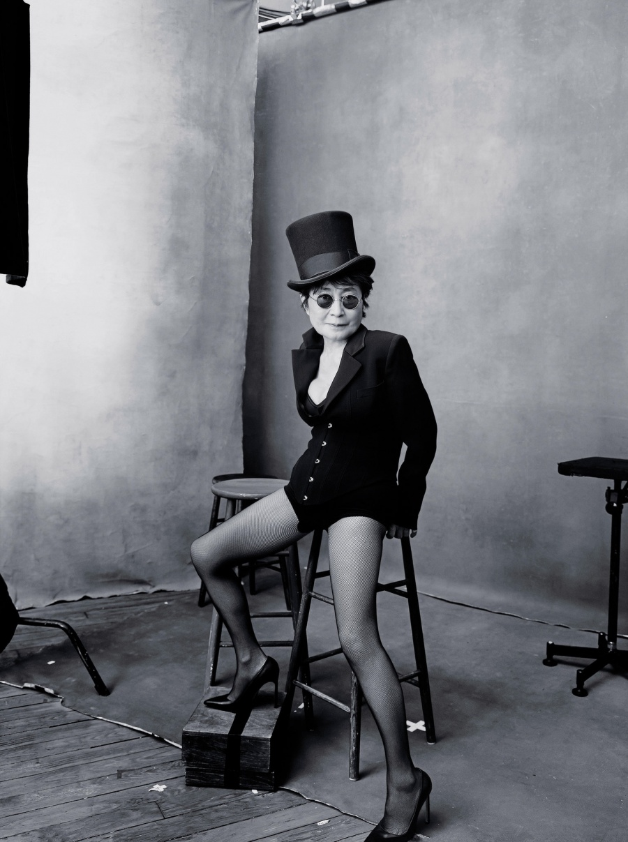 Artista Yoko Ono oct