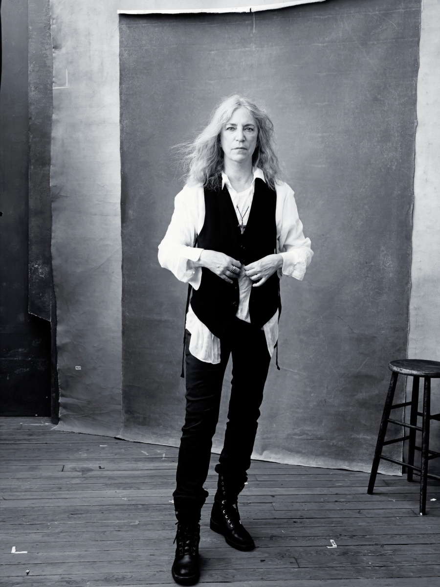 Cantante y poeta Patti Smith nov