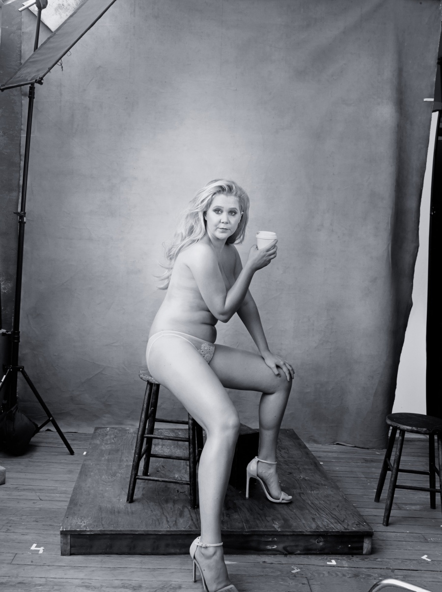 Comediante Amy Schumer dec