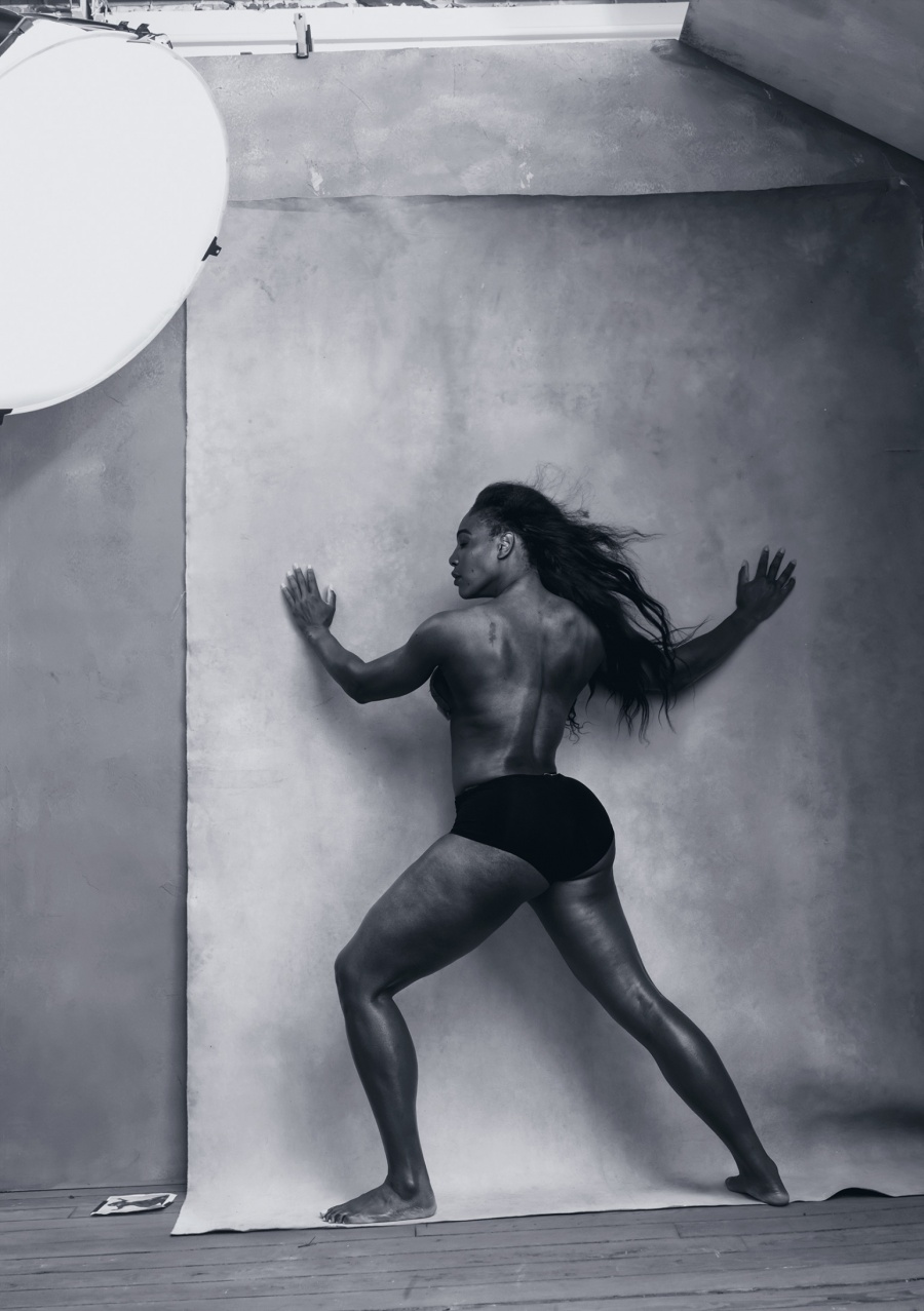 Tenista Serena Williams aprilie